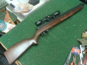 Crossman Benjamin Model 392  5.5 mm .22 cal Bolt Action Pump Air Rifle w/scope