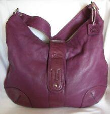 OSGOODE MARLEY Purple Leather Shoulder Bag Purse-VERY NICE