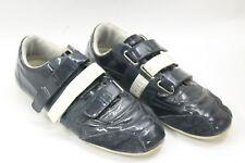 BIKKEMBERGS men shoes sz 8 Europe 41 bue polished leather S6811