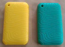 iPhone 3G Silicone Case - Green/Yellow