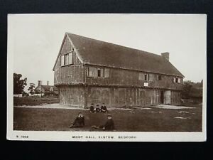 Bedfordshire ELSTOW Moot Hall c1913 RP Postcard by Kingsway