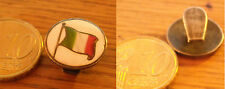 PIN DISTINTIVO SPILLA  IN SMALTO CON BANDIERA ITALIANA