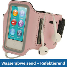 Pink Rosa Anti-Rutsch Sports Armband für Apple iPod Nano 7. Generation 16GB 7G