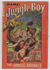 Wambi, Jungle Boy #18 (1952) Good (2.0) Fiction House Maurice Whitman