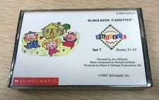 SCHOLASTIC Phonics Readers NEW Cassette 1997 Set 7 Books 37-42 Sealed FREE SHIP