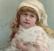 ROYAL MAPLE SYRUP VICTORIAN CABINET CARD ALBUM FILLER AD w/ PURE SWEET GIRL