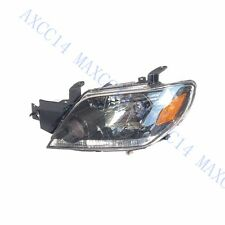 LH Front Head Lights Headlights Lamps For Mitsubishi Outlander 2003-2006