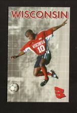 Wisconsin Badgers--2002 Soccer Pocket Schedule--University Bookstore