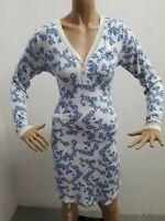 VESTITINO LIU JO DONNA TAGLIA SIZE M VESTITO DRESS WOMAN MAGLIA LUNGA P 5050