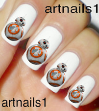 Star Wars BB8 Nail Art Water Slide Decals Stickers Manicure Salon Mani Polish !