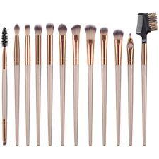 GUJHUI Juego de Brochas de Maquillaje de 12 Piezas Pincel para Ojos Peine d G6U7