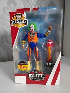 NEW - WWE - Flashback Series Mattel Elite - Doink The Clown