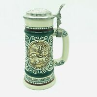 Vintage 1978 Avon Beer Stein The Strike Rainbow Trout At Point English Setter