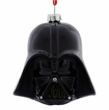 Hallmark Disney Ornament 2016 Star Wars Darth Vader Mask Blown Mercury Glass
