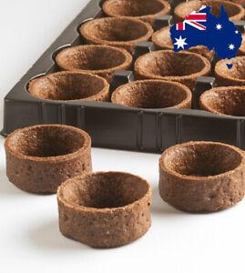 MINI Round Sweet Chocolate Tart Shells Tray Dessert Buffet 4cm - Just Fill