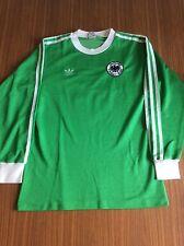 Adidas Erima Deutschland Fußball Trikot Gr. M 5/6 sehr gute Zustand grün