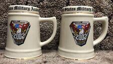 2002 United States Military Academy Bicentennial Mug Stein West Point Army USMA