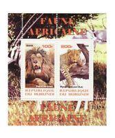 African Animals -  Sheet of 2  - 2J-013