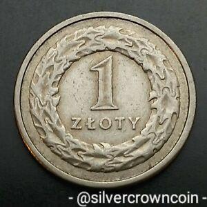 Poland 1 Zloty 1992 MW. Y#282. One Dollar coin. Eagle. RZECZPOSPOLITA POLSKA.