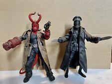 Mezco Hellboy Battle Damaged And Karl Ruprecht Kroenen 7 Inch Action Figures