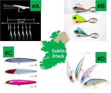 Feathers VIB Lure Sea Fishing Tackle Saltwater Freshwater Rigs Artificial Baits