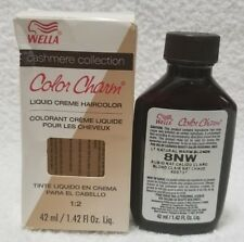 Wella Color Charm 8NW LIGHT NATURAL WARM BLONDE Liquid Creme Hair 1.42 oz New