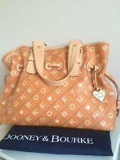 Dooney & Bourke handbag leather canvas large tote shopping RRP £350. Rare.