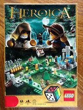 Lego HEROICA Waldurk Forest 3858 Buildable Game PreOwned Complete w/Instructions