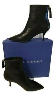 STUART WEITZMANJUNIPER 70 BLACK booties