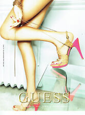 Publicité Advertising 107  2009  Guess by Paul Marciano  chaussures
