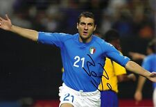 Christian VIERI SIGNED 12X8 PHOTO INTER MILAN & ITALIA Italia AFTAL COA (1900)