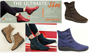 Arcopedico Shoes Portugal L19 comfort lytech ankle boots - 7 colours