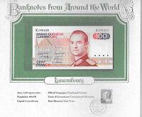 World Banknotes Luxembourg 100 Francs 1980 P-57 UNC Prefix E Birthday E198458