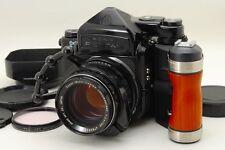 N.Mint- Pentax 6x7 TTL Mup 67, SMC Takumar 105mm Lens, Grip, Etc from Japan #r24