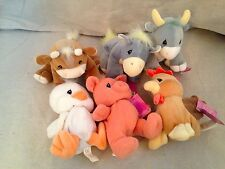 6 New 1998 Precious Moments Country Lane Tender Tails Nwt lot set rareretired