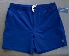 Polo Ralph Lauren Men M L XL Prepster 6 in Navy Blue Swim Shorts Trunks NEW