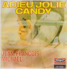 """7"""" vinyle single Jean Francois Michael Adieu jolie Candy 60`s vogue DV 14 949"""