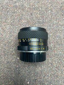 Yashica DSB 28mm 1:2.8 lens