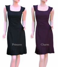 Retro Knee Length Sheath Dresses for Women