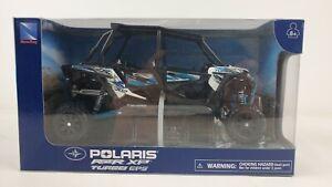 New Ray Toys Polaris RZR XP 4 Turbo EPS Matte White Lightning Diecast Car
