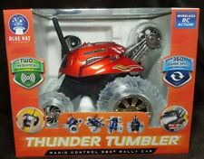 Blue Hat THUNDER TUMBLER Wireless RC 360º Rally Car ~ RED ~ Spins & Other Stunts