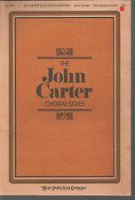 My Heart Is In Your Keeping John Carter Sheet Music 1986