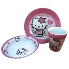 Hello Kitty  Frühstücksset Kinderservice 3teilig aus Porzellan