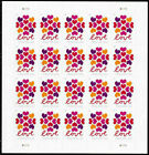 New 200 Hearts Blossom Love stamps 10 Sheets Of 20 USPS Postage