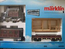 Märklin 54103 Voie 1 locomotive électrique Caisse en verre Voiture de danse