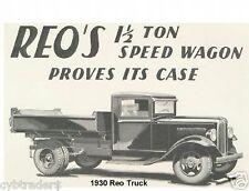 1930 Reo Truck  Refrigerator Magnet