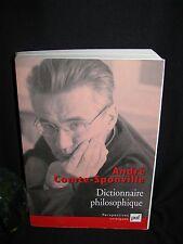Philosophy French Book - Dictionnaire philosophique Comte-Sponville 1st Edition