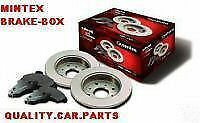 AUDI A6 1.8, 1.9TDI REAR MINTEX BRAKE DISC AND PADS 97-