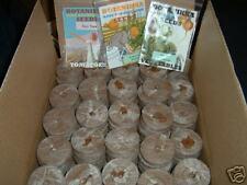250 Jiffy-7 Pellets, 42mm greenhouse grade, free seeds!