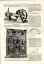 1889 motore lineare CENTRALINO generatori parallelo 6 Pounder FUOCO RAPIDO